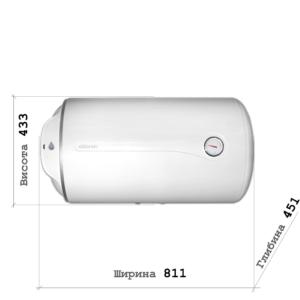 Бойлер Atlantic O`Pro Horizontal HM 100 D400-1-M